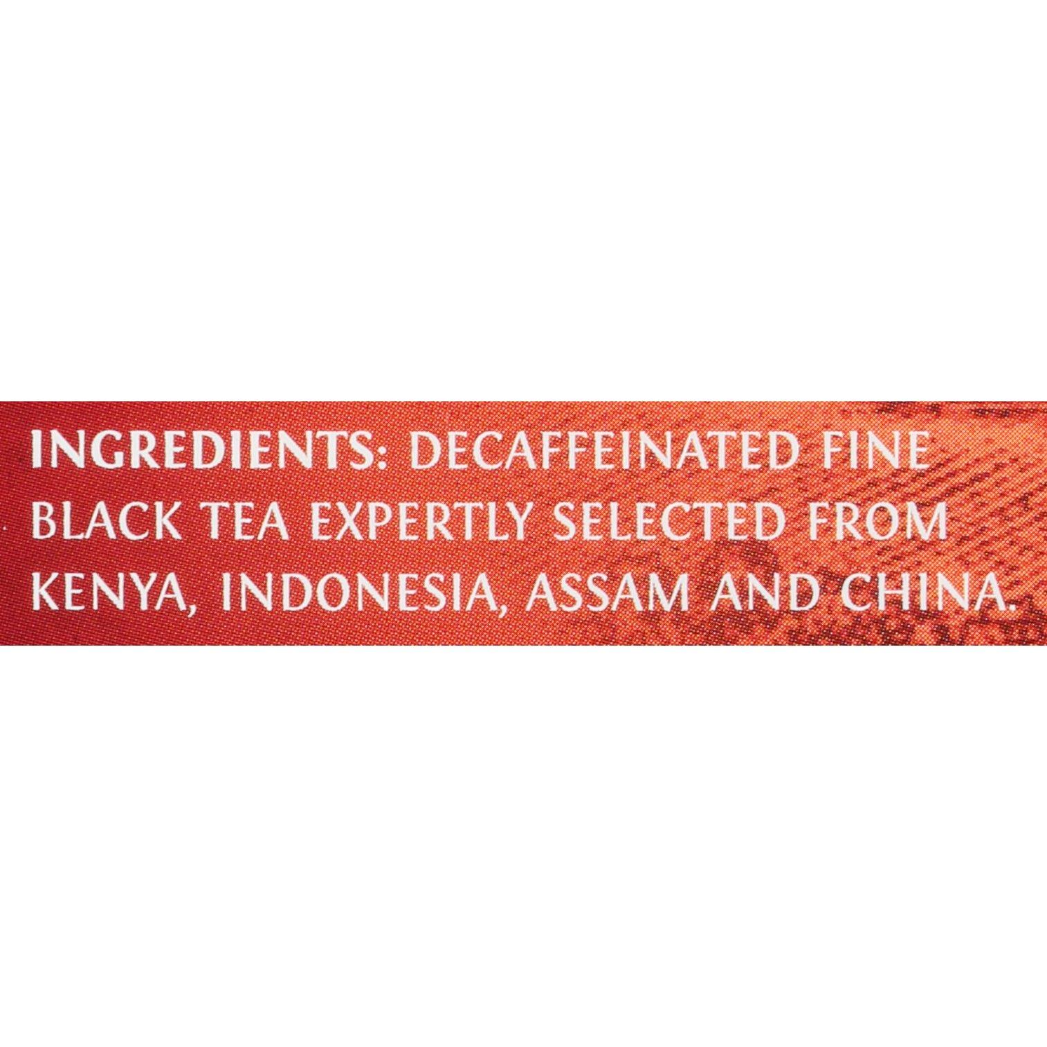 Twinings of London Decaffeinated English Breakfast Tea K-Cups for Keurig, 24 Count