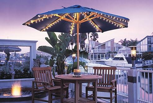 Good Regenschirm Licht Set Für Die Meisten Standard Terrasse Regenschirme