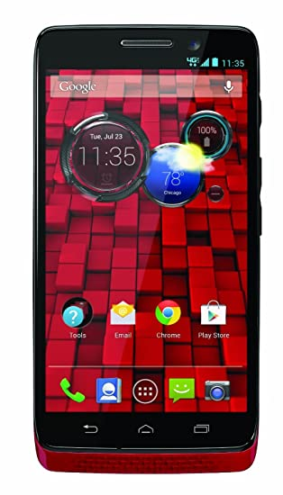 Motorola XT1030 - DROID MINI 16GB Android Smartphone - Verizon Unlocked - Red (Certified Refurbished
