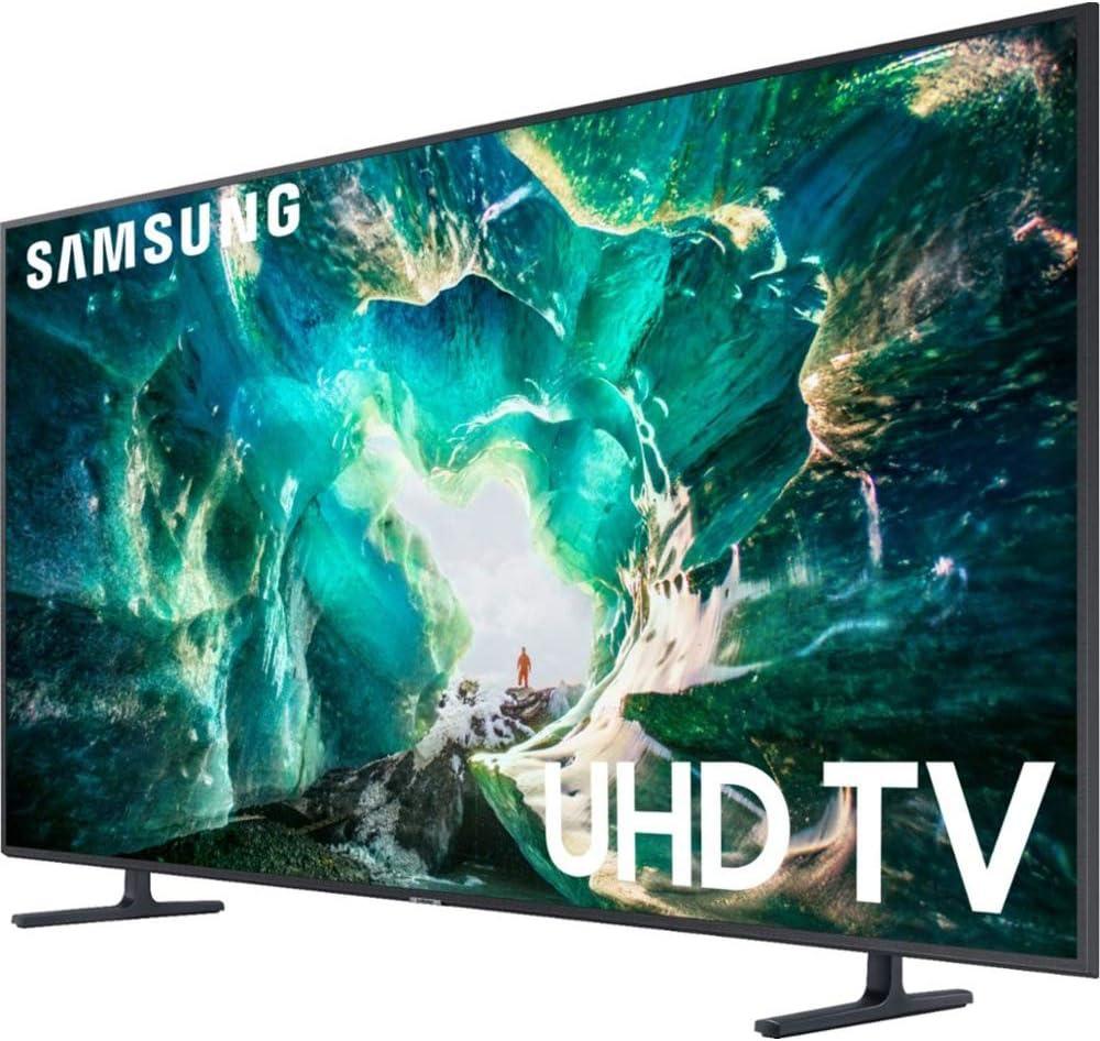 Samsung RU8000 LED Smart 4K UHD TV (2019) con Barra de Sonido incluidos, Deco Gear Home Theater Surround Sound 31