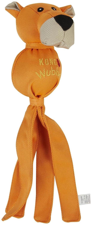 orange Bear Large orange Bear Large Kong Wubba Ballistic Friends Dog Toy orange Bear Large