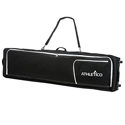 a5a7060c32d1 Athletico Conquest Padded Snowboard Bag with Wheels - Travel Bag for Single  Snowboard and Snowboard Boots