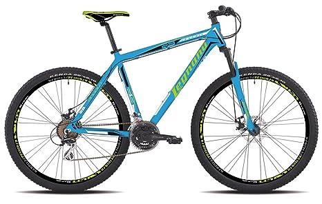 Legnano Bicicletta 605 Andalo 29 Disco 21v Taglia 44 Blu Mtb