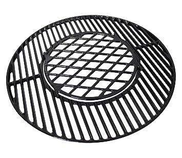 Hongso pch835 hierro fundido Gourmet sistema de barbacoa ...