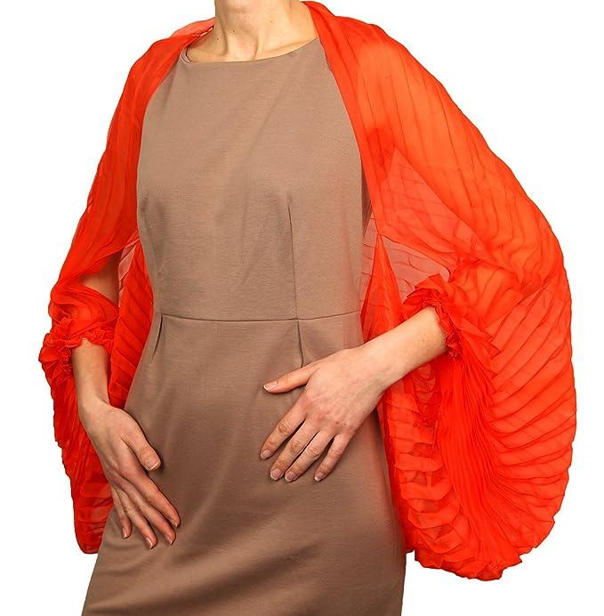 super popular b2311 c043c Valentino - Coprispalle - Donna rosso rosso corallo: Amazon ...