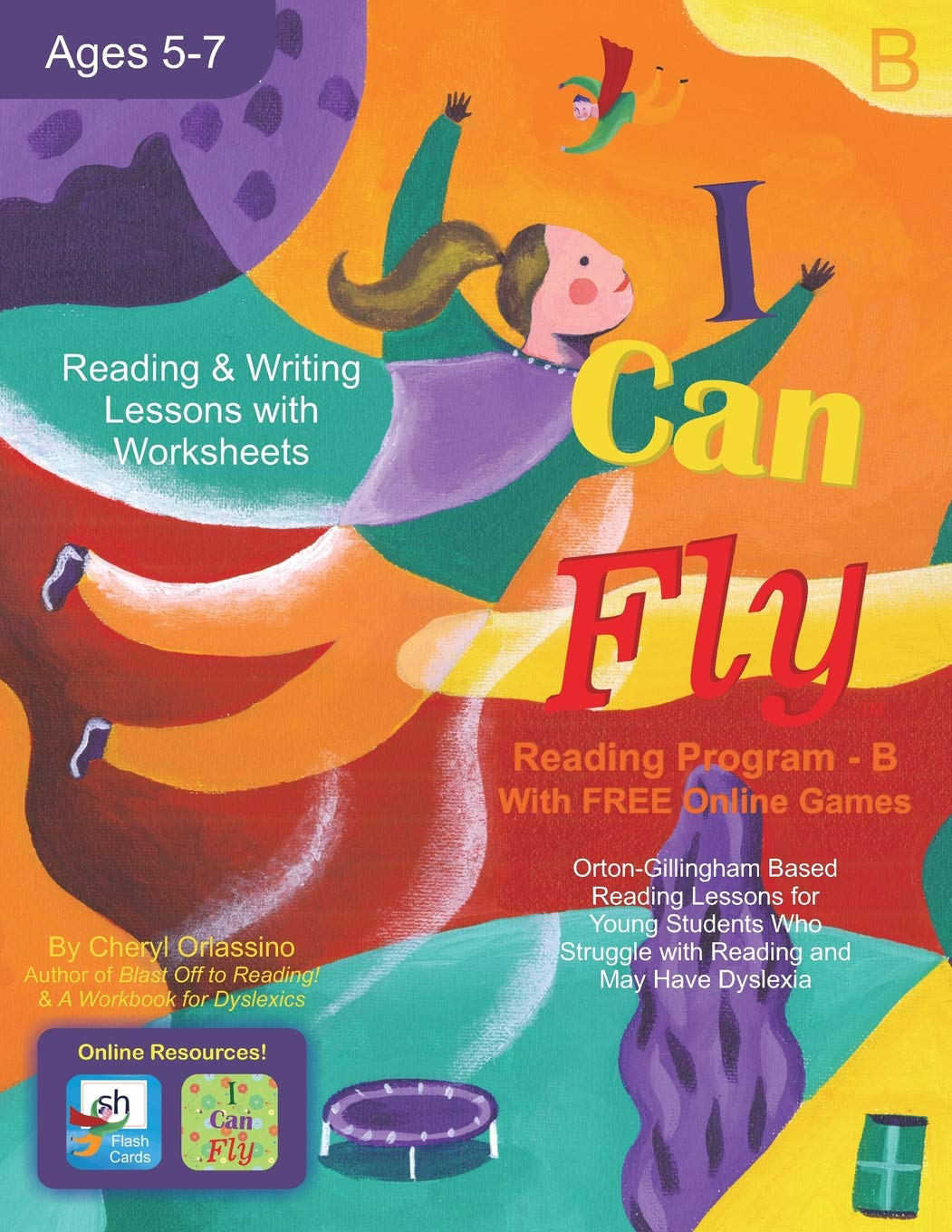I Can Fly - Reading Program - B, With FREE Online Games ...