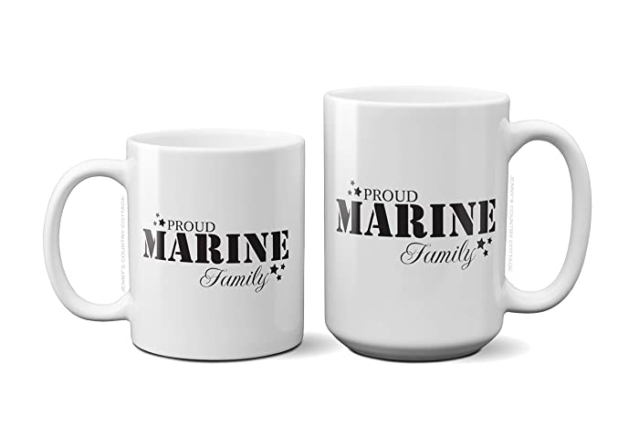 Amazon Proud Marine Family Coffee Tea MugBirthday Gift For