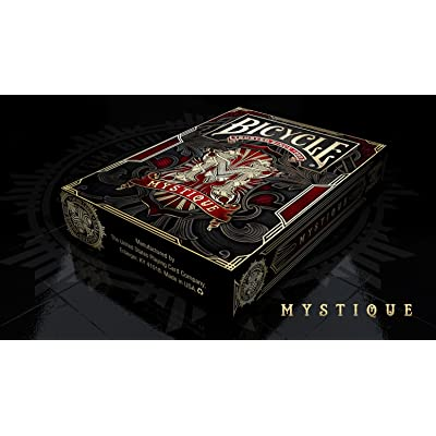 Bicycle Mystique Red Playing Cards Deck Limited Edition: Toys & Games