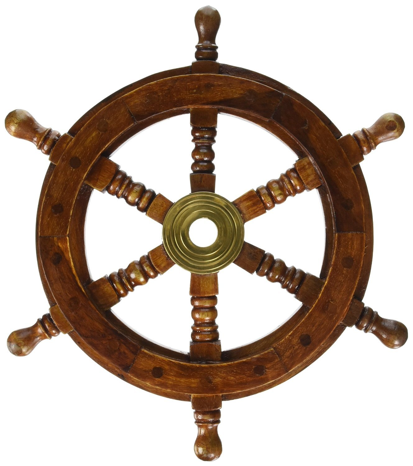 Pirate Ship Wheel Nautical Decor
