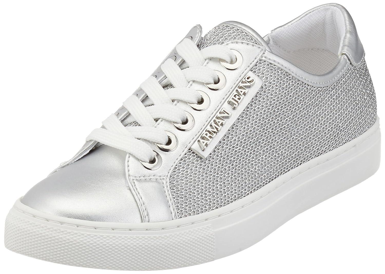 Armani 9252087p597, Zapatillas para Mujer 40 EU|Plateado (Argento)