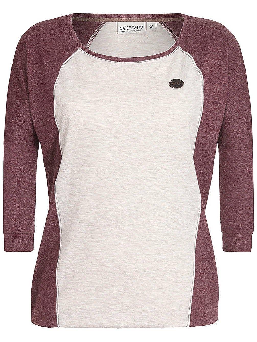 Naketano Damen T-Shirt Purger Mit Burger T-Shirt  Amazon.de  Bekleidung 52c5087117