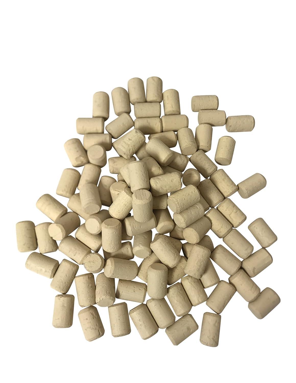 100 St/ück Steril Korken 38 x 24 mm Qualit/ät Super Weinkorken