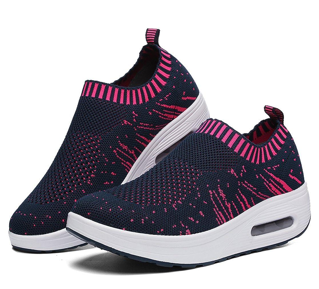 Womens Casual Outdoor Slip-On Mesh Shoes Walking Fashion Sneaker,Running Shoes