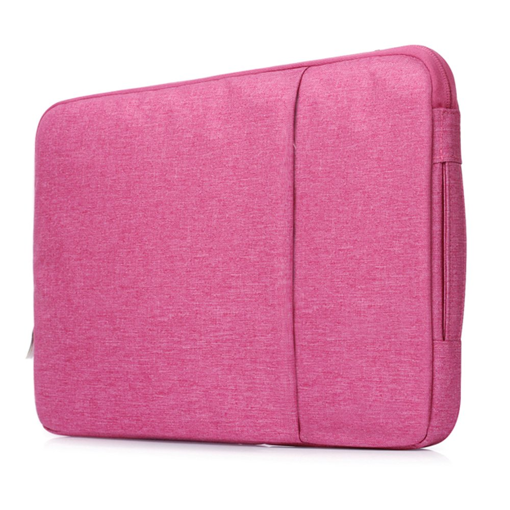 Sammid Sleeve Case Cover for 11.6 inch Macbook,Laptop Sleeve Protective Case for Most 11.6-12 Inch Laptop, Notebook, MacBook etc - Hot Pink
