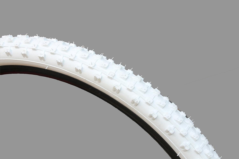 CURIO UK M1101 Pneu de VTT Blanc 26 x 2,10