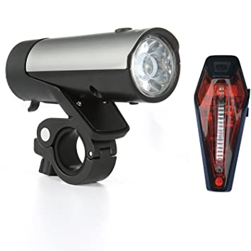Fahrrad Licht Set, Premium LED Fahrradbeleuchtung ist STVZO USB ...