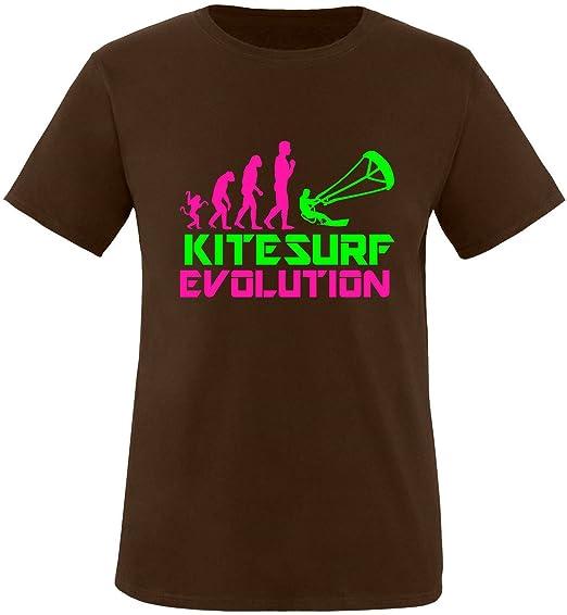 EZYshirt® Kitesurf Evolution Herren Rundhals T-Shirt: Amazon.de: Bekleidung