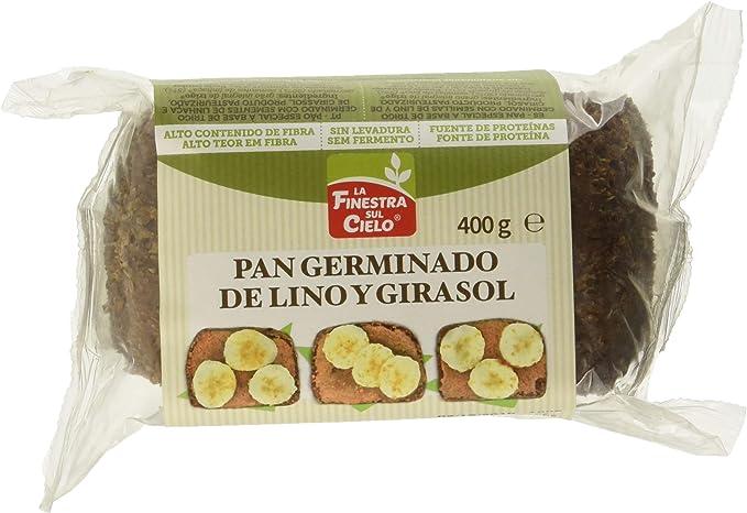 Pan especial a base de trigo germinado con semillas de lino y ...