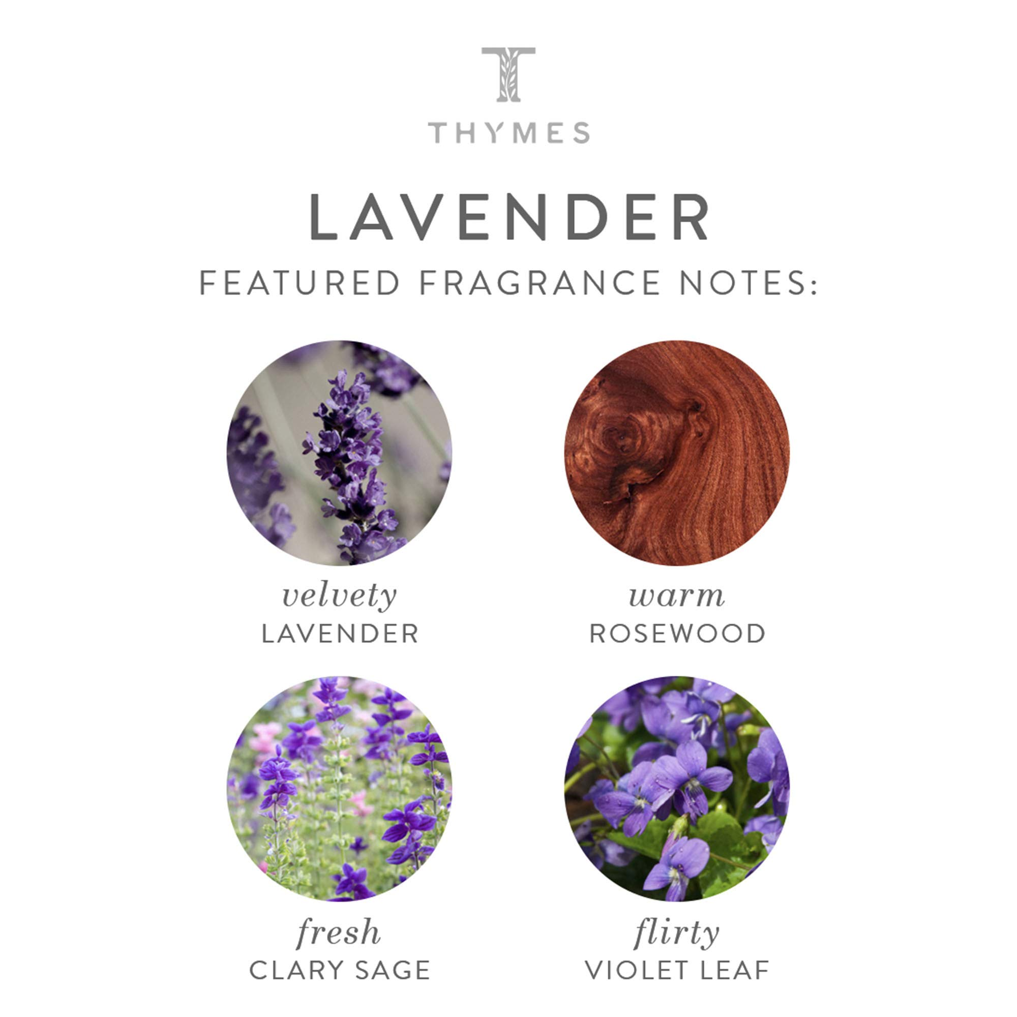 Thymes - Lavender Hand Lotion with Pump - 8.25 oz by Thymes (Image #3)