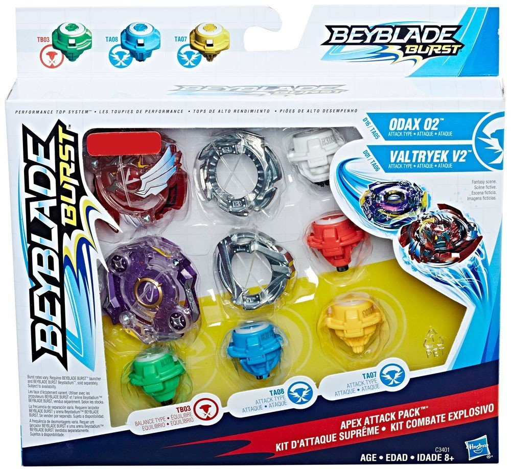 Beyblade Burst Apex Attack Pack Hasbro Toys