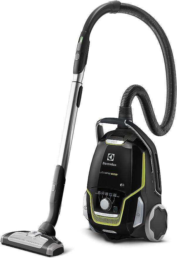 Electrolux UltraOne ZUOGREEN+ Aspiradora con bolsa AAA y cepillo AeroPro Parketto Pro, 850 W, 5 litros, 66 Decibelios, Negro ébano y verde: Amazon.es: Hogar
