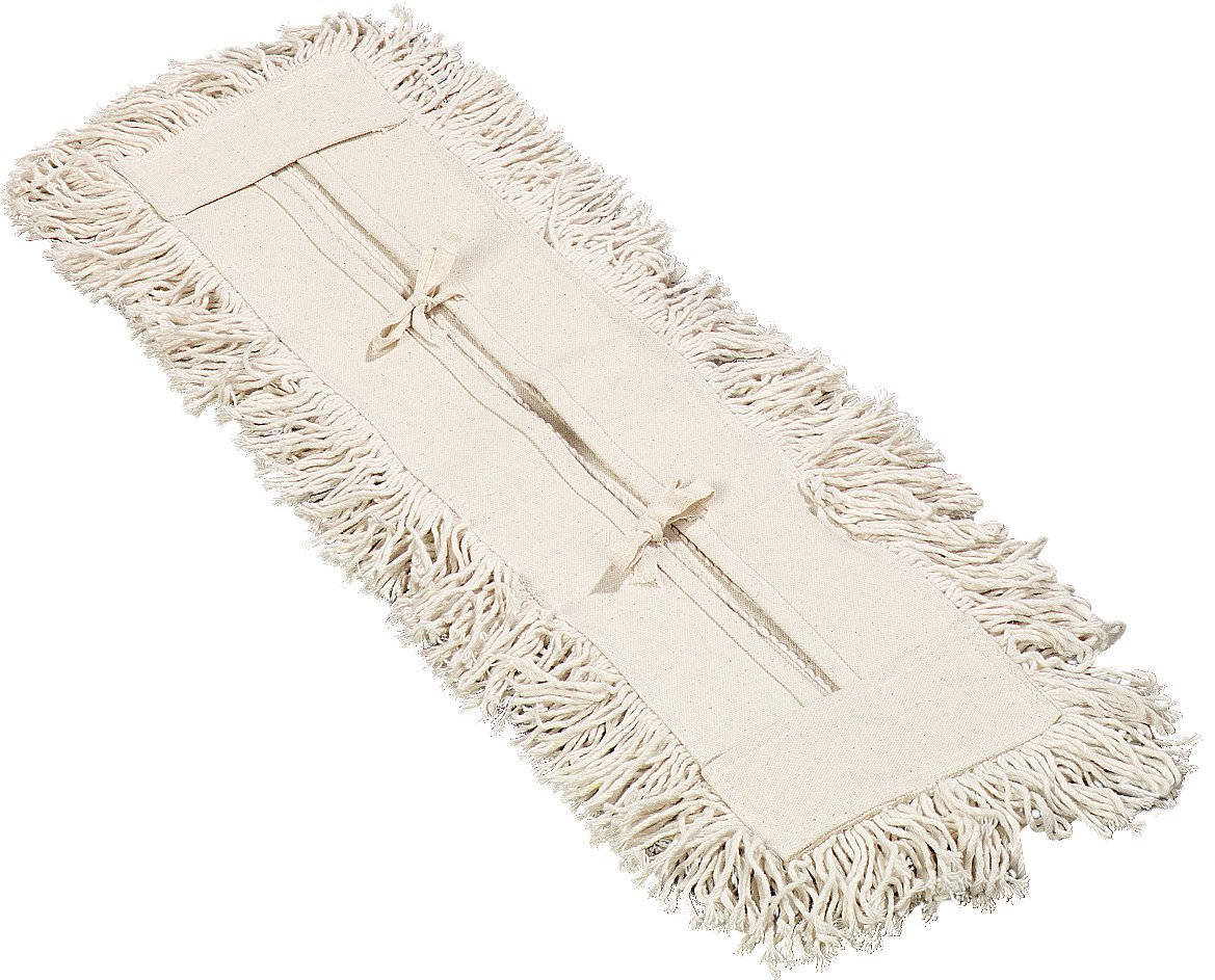 Amazon Com Carlisle 364752400 Flo Pac Cotton Tie Back Dust Mop 24 Length X 5 Width Pack Of 12 Industrial Scientific