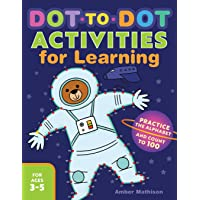 Dot to Dot Activities for Learning: Practice the Alphabet and Count to 100