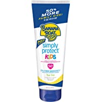 Banana Boat Simply Protect Tear Free, Reef Friendly Sunscreen Lotion for Kids, Broad Spectrum, 9 Fl Oz