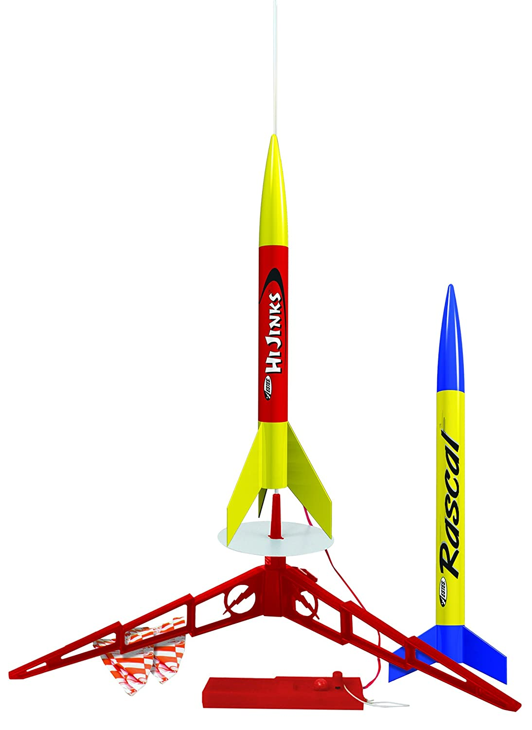 Estes Model Rocket Launch Set Duo - Rascal AND Hijinks Estes Cox 1499