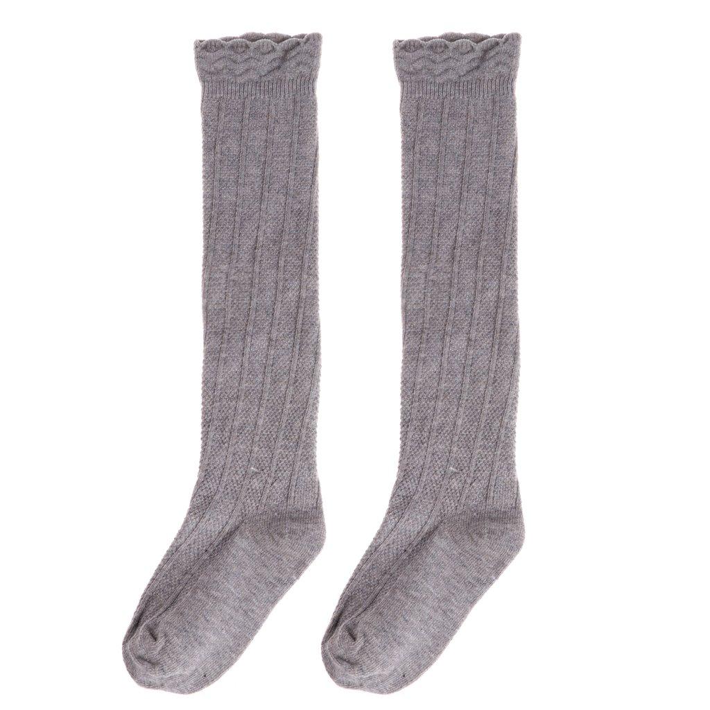Baby Toddler Girls Cotton Knee High Socks Tights Leg Warmer Stockings