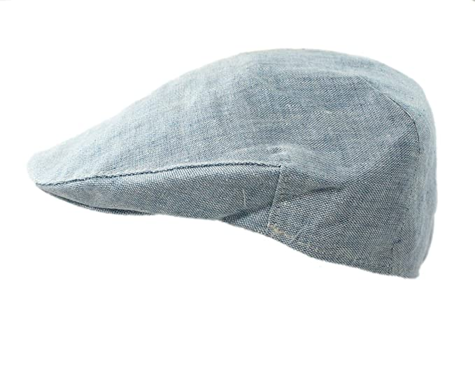 9cdf85e98c6 Biddy Murphy Men s Linen Hat Lightweight Made in Ireland at Amazon ...