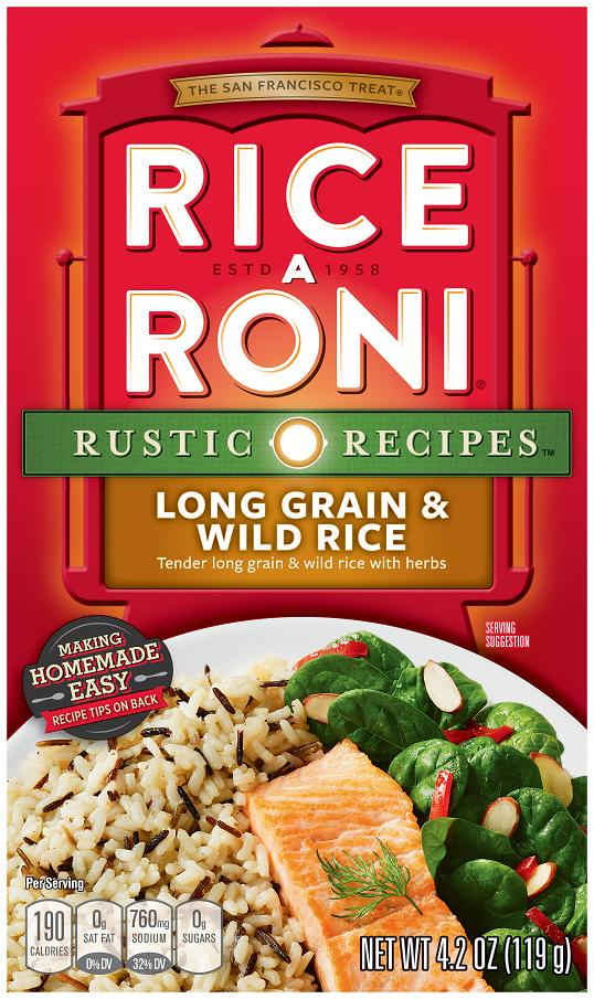Rice-A-Roni Original Long Grain & Wild Rice, 4.3-Ounce Boxes (Pack of