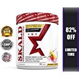 SKALD First Pre Workout Fat Burner to Help You Breathe - Thermogenic Cardio Supplement to Improve Energy, Weight Loss, Focus, Appetite Control and Endurance - For Men and Women