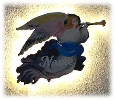 Nachtlicht Lampe Geschenk Schutzengel Mit Name Engel Als