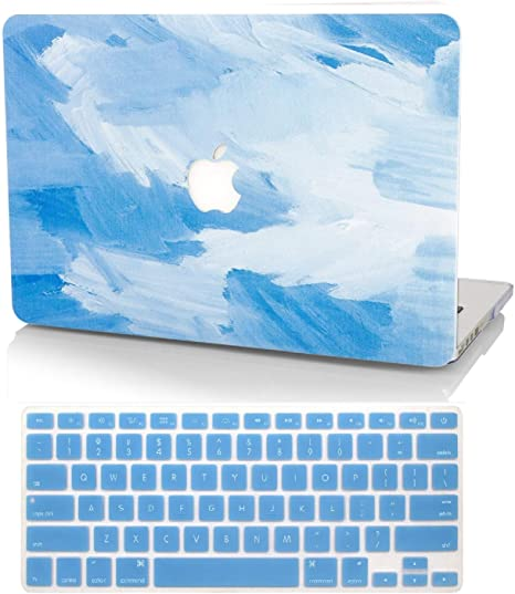 "Laptop Hard Shell Keyboard Slim Case For MacBook Pro 15/"" A1707 13/"" A1706 A1708"