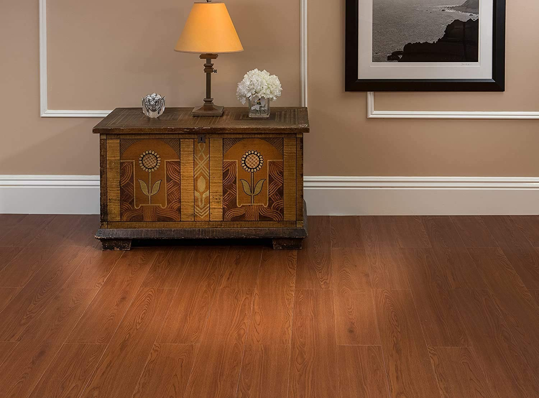 Fоur Расk, Walnut 10-Pack Walnut Achim Home Furnishings VFP1.2WA10 3-Foot x 6-Inch Vinyl Flooring Plank