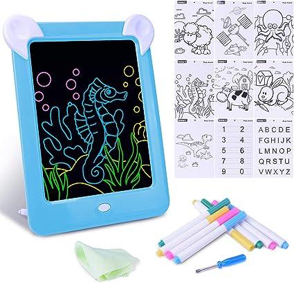 Tableta de Escritura LED Pizarra Mágico con Luz para Niños ...