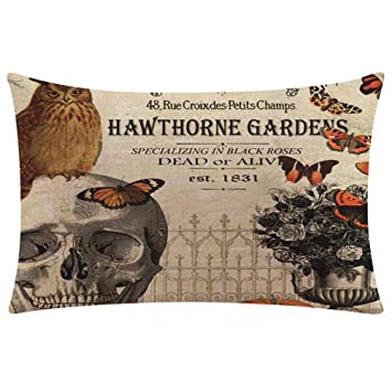 DEELIN Halloween Rectangular Funda De Almohada Super Soft ...