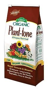 Espoma Company Purpose pt40 36 LB, 5-3-3 Plant Tone, All Natural and All Purpo, Multicolor