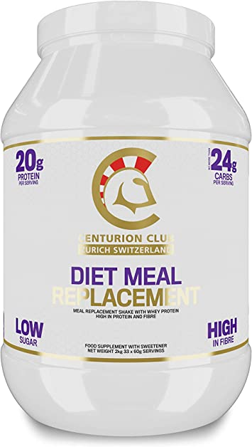 Centurion Club Nutrition Diet Batido de Reemplazo de Comidas ...