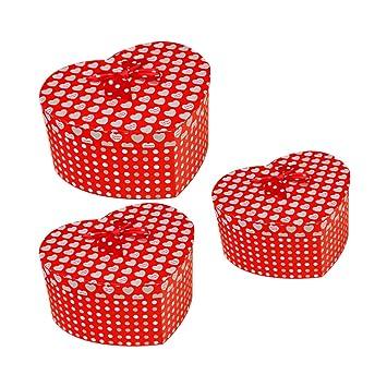 Amosfun - Caja de regalo de San Valentín, caja de regalo, caja de ...