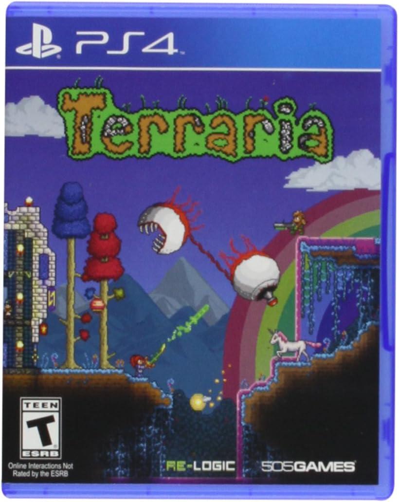 Amazon com: Terraria - Nintendo 3DS: 505 Games: Video Games