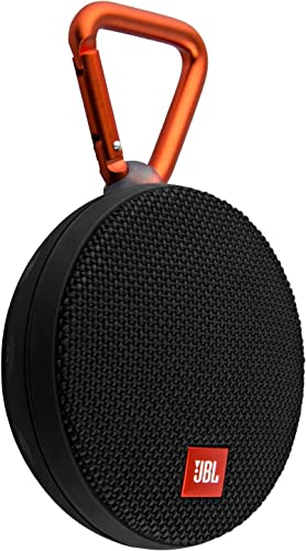 JBL Clip 2 Waterproof Portable Bluetooth Speaker Black Renewed