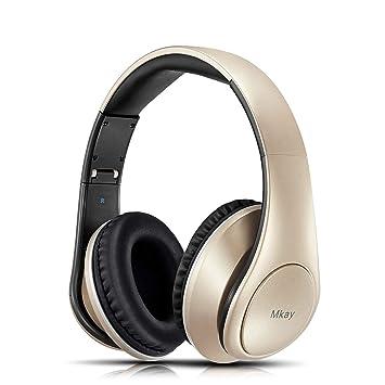 468d80392b MKay 密閉型 Bluetooth ヘッドホン 高音質 ワイヤレスヘッドフォン Bluetooth V4.2 25時間音楽