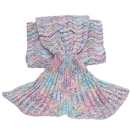 Amazonde Meerjungfrau Decke Mermaid Decke Wohndecke Häkeln