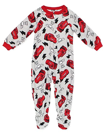 a18d694fe Amazon.com  Disney Cars Go Go Lightning Boys Blanket Sleeper Pajama ...