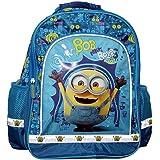 Moi Moche et Méchant - Minions - enfants - sac à dos sac d'école avec un rembourrage de retour