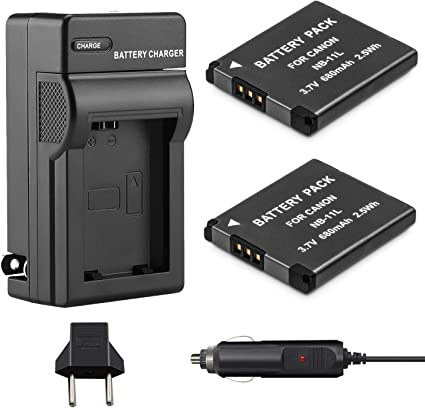 charger For Canon PowerShot SX400 SX410 iS ELPH 340 HS NB-11Lh Battery
