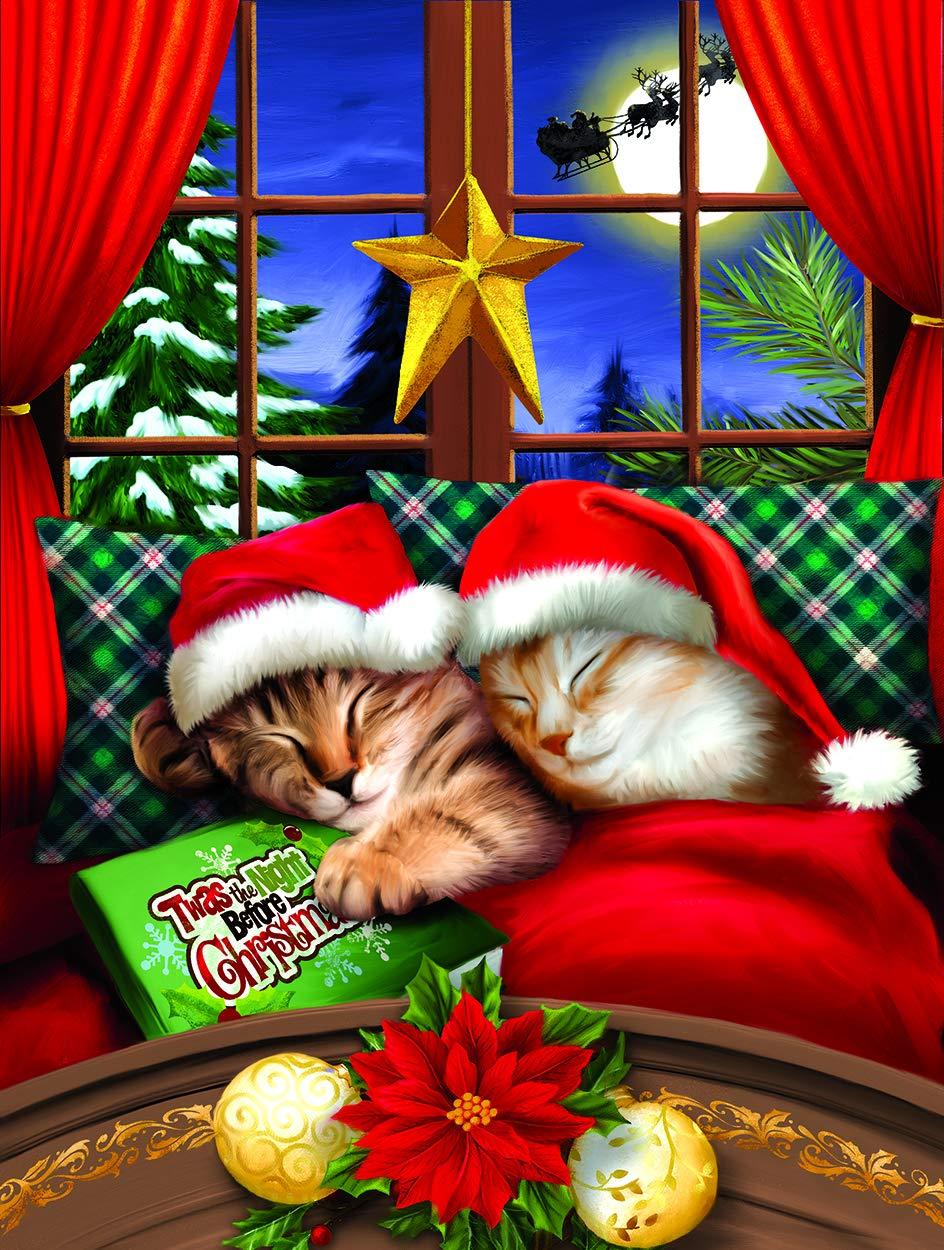新しいコレクション Sunsout 2019 to 猫 All a Merry B07MZGJVDX ジグソーパズル Christmas アーティストのトムウッド 300ピース 猫 ジグソーパズル B07MZGJVDX, ホームセンターきたやま:210223da --- a0267596.xsph.ru