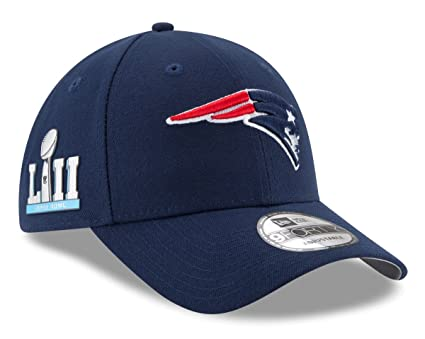 Image Unavailable. Image not available for. Color  New Era New England  Patriots 9Forty NFL Super Bowl LII Patch Adjustable Hat 3e8eb51c3